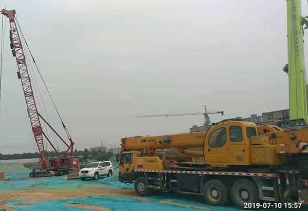 安徽蚌埠公共工程设施强夯