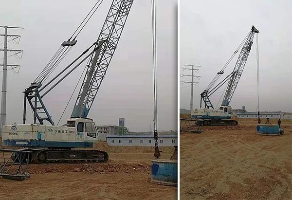 江苏昆山工业园区强夯施工