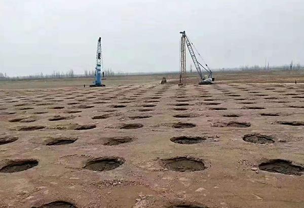 浙江嘉兴市公共设施强夯工程