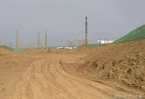 河南焦作公共设施强夯施工